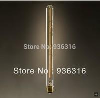 Free shipping edison light bulb Glass pendant light flute light source loft lamps and accessories  antique bulb carbon tungsten