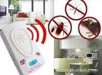 Electronic ultrasonic insect repellent/ mosquito repellent/ Electronic Pest Repeller Cockroach control/free shipping