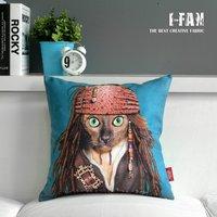 Pirate Captain Jack pillow  Creative cute cartoon Plush pillow cover pillow cushion sofa cushions Car Cushion  gift 45cm*45cm