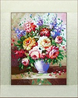 Suzhou embroidery finished product suzhou embroidery decorative painting still life painting lotus leaf 4050
