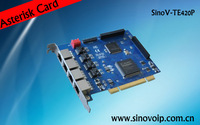 4 E1 PCI Digital Asterisk Card
