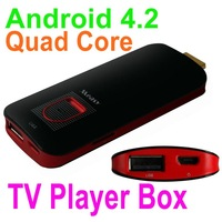 Measy U4A Mini PC Android 4.2 Quad Core RK3188 TV Player Box 1G/4GB HDMI 1080P Bluetooth 4.0 Wifi Media Player