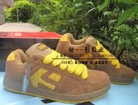 Whole nubuck leather Et skateboard shoes bread shoes classic ks hip-hop shoes brown