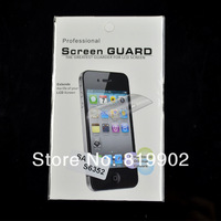 High Quality Clear LCD Screen Protector For Samsung Galaxy Ace Duos s6802 film guard with Retail Package (10 film+10 cloth)