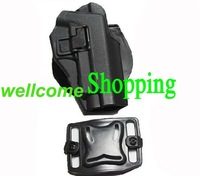 New type Blackhawk CQC Airsoft P226 hard plastic tactical holster Black