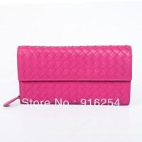 new fashion Vintage  multifunctional women lady wallet long design purse handbag free shipping
