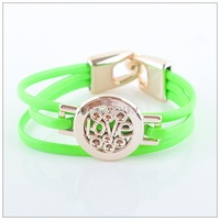 Fashion Multicolor Leather Bracelets Jewelry(12pcs/lot) Alloy LOVE Bracelet Wholesale LR0003
