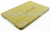 Business Toothpick Grain PU Leather Smart Cover Case For iPad Mini