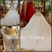 halter high neck ball gown organza sexy appliques beaded lace keyhole back wedding dress bridal gown plus size