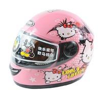 Free shipping!Kids full face helmet,Spider Man hello kitty SpongeBob motorcycle helmet,safe Approved,Children Birthday gifts toy