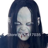 1 set Halloween Horror Masks Witch Masks Grudge ghost Sadako Sadako pullover mask of terror