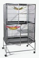 Double layer luxury chinchilla cage mink cage squirrel cage squirrel cage bag