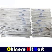 1% SMD 0805 Resistors 10R-910K Ohm 80Valuesx50Pcs= 4000PCS, 0805 SMD Resistors Assorted Sample Kit #LSS29