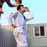 Lf1 adult child tae kwon do taekwondo clothes cotton myfi 100%