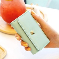 Sweet women's car key wallet/ card holder 4 55g