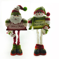 Quality fabric christmas decorations Christmas decoration one pair of 631 - 644
