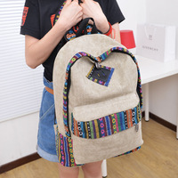 National 2013 trend backpack female canvas fashion preppy style trend of the student school bag backpack