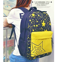 School bag backpack preppy style travel bag canvas laptop bag