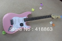 Genuine fire hawk electric guitar pink broken can be customized