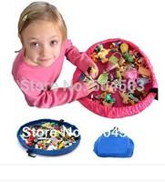 kids  toys pouch storage bag wholesale/retail 1pc child toys Storage Boxes 45cm pink  blue color free shipping