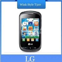 Original Unlocked cell phone  LG Wink Style T310 original mobile phone  ,  Singapore post air mail Shipping