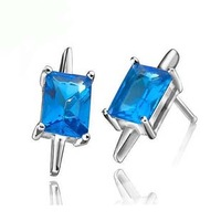 Stud earring s925 pure silver jewelry lovers male Women zhaohao fashion souvenir Christmas gift