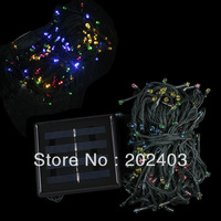 Solar Powered 200 LED Outdoor String Light Lamp For Christmas Wedding Party Festival Decoration
