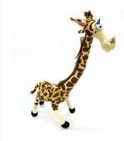 "14"" Cute Lovely Long Neck Giraffe Stuffed Plush Toy Doll Madagascar 3 for Kids"