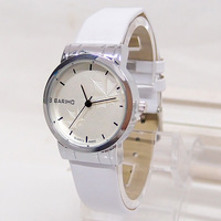black white Japan movement fashion quality quartz watch women men lover casual brand wrist watch 2C137