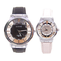 black white Japan movement fashion quality quartz watch women men lover casual brand wristwatch 32N13