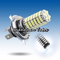 20pcs 120 LED 3528 SMD H4 White Fog Driving Parking Light Headlight Lamp Bulb