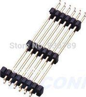 2.54mm Pin Header H2.50mm 2*40P CONNECTOR  three row 180 DIP