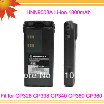 10pcs/lot DHL free shipping free PMNN9008A 1800mah Li-ion Cheap Walkie Talkie battery for GP328 GP338 GP340 GP380 GP360