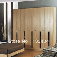 Timber Veneer  Wardrobe (AGW-033)