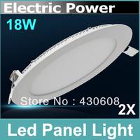 18W led panel light Bright LED Recessed Ceiling light Panel Down Light Bulb Lamp 1800lm ,AC85-265V