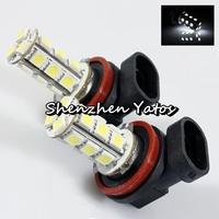 10pcs H11 18SMD 5050 LED Headlamp Fog Bulb