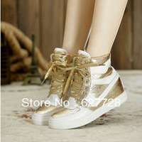 New Designer Ladies Comfortable Sneaker,Inner Height Lace Up Fashion Sneaker,Genuine Leather Sneaker