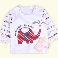 Child underwear separate buckle cotton sweater long johns 1646
