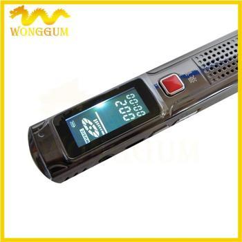 ic grabadora8gb mini-grabadora digital de voz reproductor mp3 grabador de sonido, 50pcs/lot gratis dhl ems envío