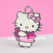 K95a Wholesale 10 pcs Hello Kitty Cupid Charm Pendants Latest Design