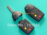 Free shipping VOLVO S80 S60 V70 XC70 XC90 5 BUTTON REMOTE KEY FOB CASE & FLIP BLADE