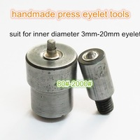free shipping 100# handmade press eylets  mould tools,inner 3.5 mm