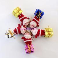 Love Novelty Christmas supplies decorative Christmas ornaments Christmas tree ornaments Santa Claus small pendant station matter