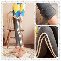 High Quality 8639 winter velvet thickening picotee cotton women leggings double layer slim warm pants