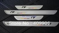 New Stainless Door Sill Scuff Plate For VW Golf 6 MK6 MK4 Jetta 6 MK6 Passat CC B6  Ulitra Slim