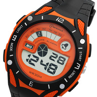Free shipping children digital watches casual outdoor waterproof  sports watches for men