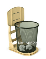 Wholesale 5 pieces / lot DIY Basketball Stand Wastebasket / Basketball Rubbish Bin