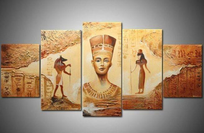 Decoracion Egipcia Antigua ~ Compra antiguas pinturas egipcias online al por mayor de China