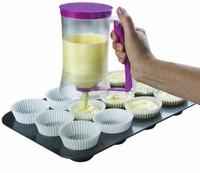 Plastic And Silicone Cake Baking Essential Tools Cupcake Bakeware Batter Muffin Pie Cake Pancake Cupcake Dispenser