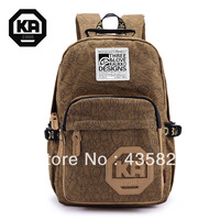 Free shipping 2014 New style trend backpack preppy style casual canvas 100%cotton printing school  bags Hot sale